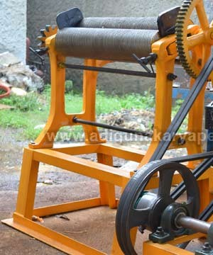 Mesin Mangel Batik (Latex Roller Machine)