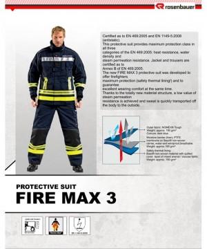 Baju Pemadam Rosenbauer Fire Max 3