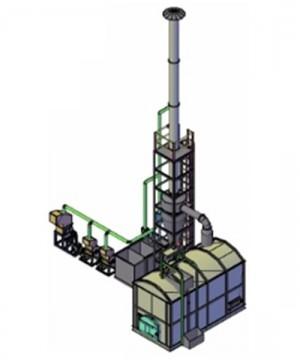 Mesin Incinerator Type HI-M100 Merk Horja