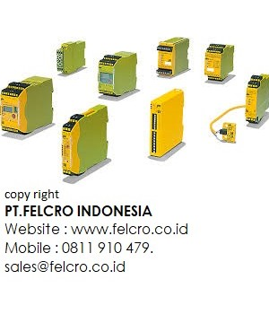 Jual Pilz safety relays PNOZ | PT.FELCRO INDONESIA