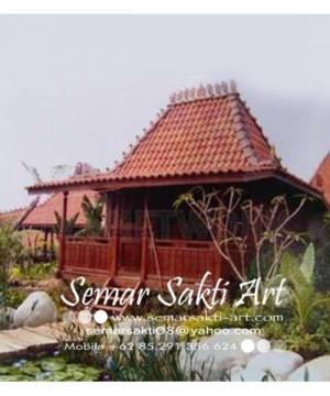 Rumah Kayu Style Jawa