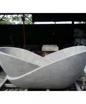 Resin Terazzo Stone Bathtub Tipe B