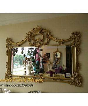 Mebel Kaca Cermin Klasik Jepara,Furniture Klasik Goldleaf
