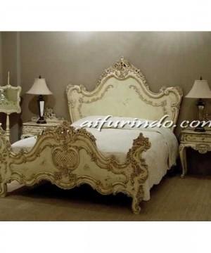 Tempat Tidur Ukir,Tempat Tidur Vintage,tempat Tidur Set