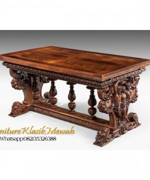 Indonesia Furniture Wholesale,Meja Makan Classic Indonesia