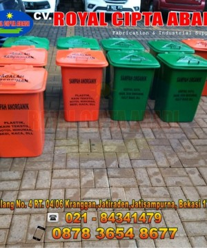 Harga Tempat Sampah Organik Dan Non Organik