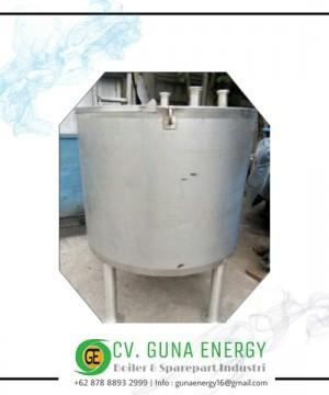 Tangki Biotech Kapasitas 500 Liter Stainless
