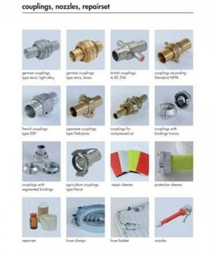 Fire Hose Equipments | Couplings, Nozzles, Repairset