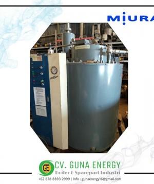 Steam Boiler Miura Solar 2000 Kg