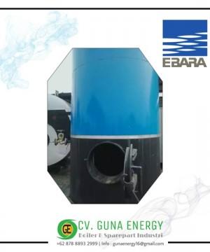 Steam Boiler Ebara Henschel Kapasitas 3600 Kg