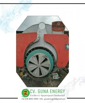 Steam Boiler Cheng Chen Machinery Kapasitas 4800 Kg