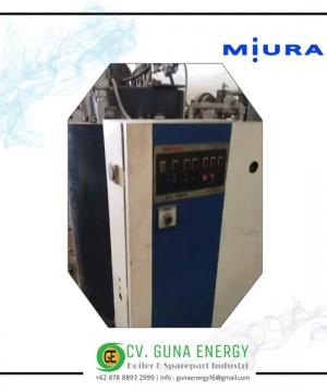 Steam Boiler Miura Solar 1500 Kg Japan