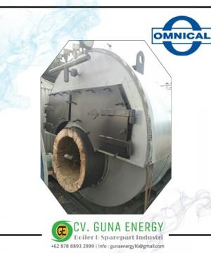 Steam Boiler Omnikal Modif Cap 3200 Kg/hr