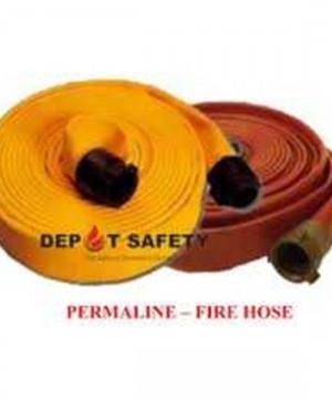 Permaline Fire Hose | Uncoupled Nitrile Fire Hose - Permaline, 500#