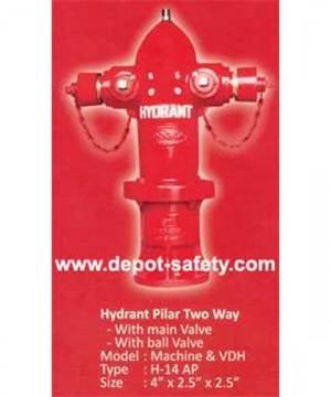 Hydrant Pillar Two Way | Hooseki | Pillar Hydrant