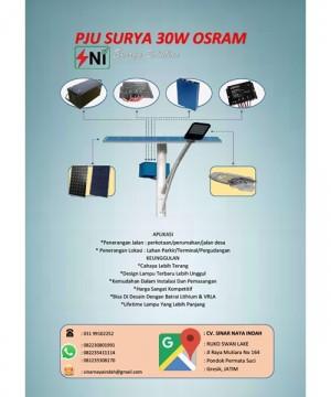 Lampu Pju Surya Osram 30Watt