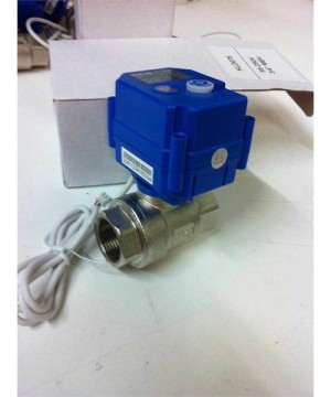Ball Valve With MOTORIZED ACTUATOR
