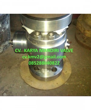 Ball Valve 3 Pcs Body Tournion Full Bore - Reducer