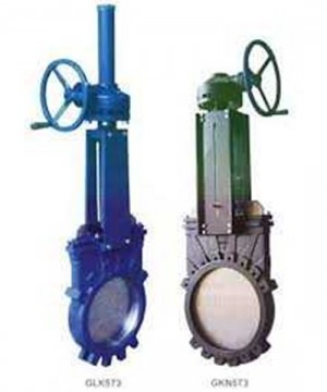 Knife Gate Valve Handwheal - Pneumatic Actuator