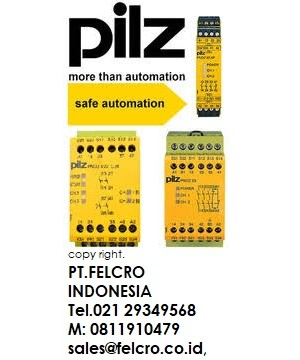 Pilz PNOZ X safety relays | PT.FELCRO INDONESIA | 0811910479