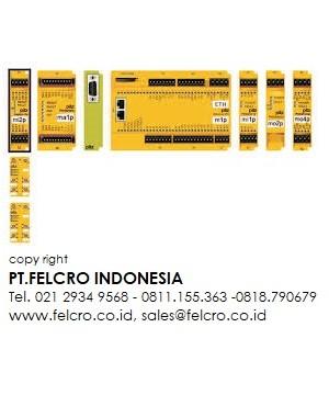 Jual Pilz - Safety relay PNOZ X   PT.FELCRO INDONESIA