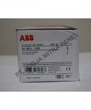 MCB 20A S 201 L C20 ABB