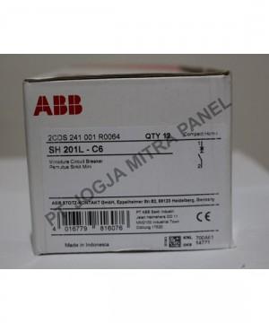 MCB 6A S 201 L C6 ABB
