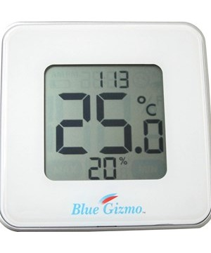 Blue Gizmo Digital Thermo-Hygrometer BG HT 09 1 Blue Gizmo Digital Thermo-Hygrometer BG HT 09