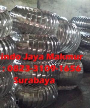 Supplier Turbin ventilator aluminium dan stainles steel surabaya