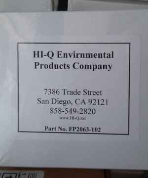 HI-Q || GLASS FIBER FILTER FP2063-102