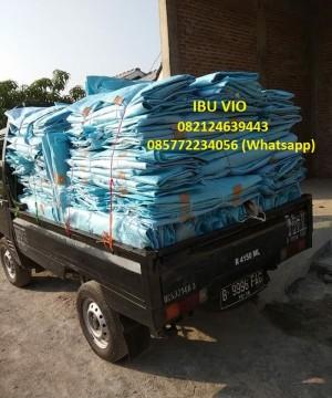 jumbo bag kapasitas 500 kg, 1 ton, 2 ton