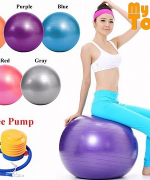 YOGA GYM BALL FREE PUMP ALAT OLAH RAGA