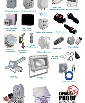 JUAL SUPERMEC EXPLOSION PROOF ELECTRICAL EQUIPMENTS