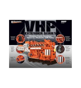 WAUKESHA GAS ENGINE SPARE PARTS - GENUINE PARTS BY DSK