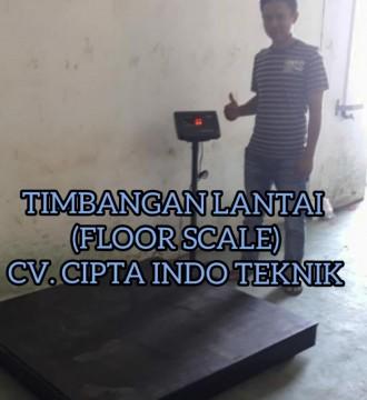 TIMBANGAN  LANTAI  - FLOOR SCALE - PLATFORM SCALE