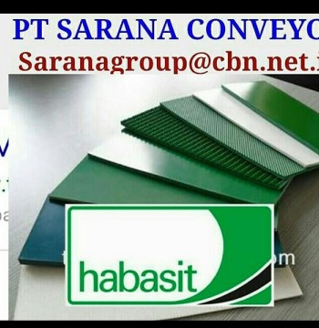 Jual HABASIT BELT CONVEYOR BELT PT SARANA BELT for food textile