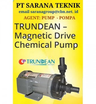 Jual TRUNDEAN MAGNETIC DRIVE CHEMICAL PUMP POMPA