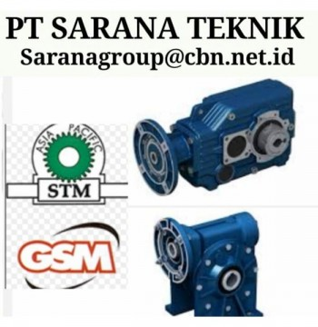 Jual GEAR MOTOR STM WORM GEARBOX DRIVE PLANETARY PT SARANA MOTOR