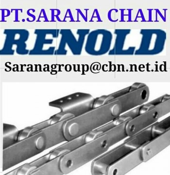 Jual RENOLD CONVEYOR CHAIN PT SARANA CHAIN RENOLD FOR ROLLER