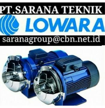 Jual LOWARA Self Priming Pompa Sentrifugal Merk Lowara