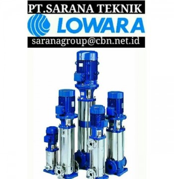 Jual LOWARA PUMP - PT SARANA TEKNIK CENTRIFUGAL LOWARA PUMP SUBMERSIBLE PUMP