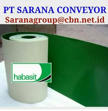 Jual HABASIT CONVEYOR BELT PT SARANA BELT PVC FOR FOOD TEXTILE