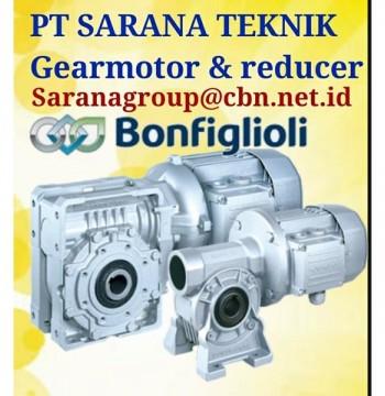 Jual Gear Motor Reducer Bonfiglioli PT Sarana Teknik