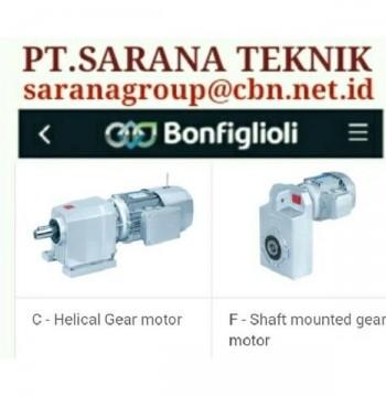 Jual BONFIGLIOLI GEAR MOTOR GEAR REDUCER GEARBOXES PLANETARY BRAKE MOTORS gear motor
