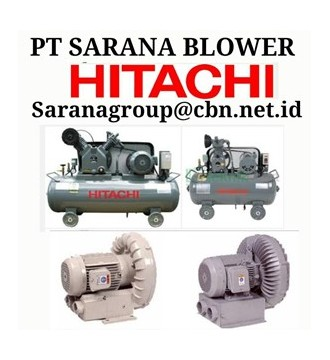 Jual AIR COMPRESSOR HITACHI PT SARANA TEKNIK BEBICON