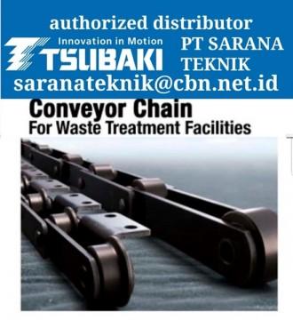 Jual PT SARANA TEKNIK AGENT TSUBAKI Roller Chain & CONVEYOR CHAIN