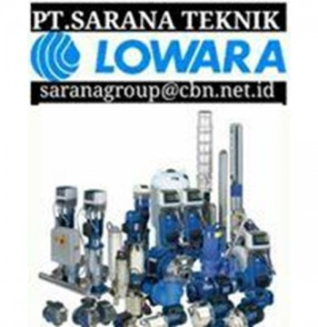 Jual LOWARA SUBMERSIBLE PUMP INDONESIA PT. SARANA TEKNIK