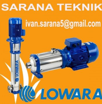Jual Pompa Centrifugal Lowara