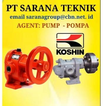 Jual Gear Pump KOSHIN TYPE GB GL GC PT SARANA TEKNIK PUMP