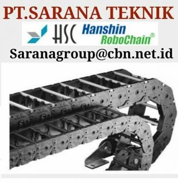 Jual HSC HANSHIN CABLE CHAIN ROBO CABLEVEYOR PT SARANA CHAIN